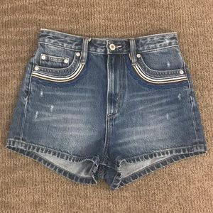 Tularosa High Rise Shorts